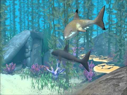 Sims 3 Island Paradise: Shark Attack & Death