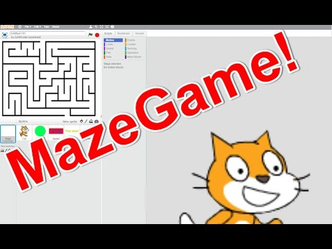 How to create a awesome maze game on scratch!