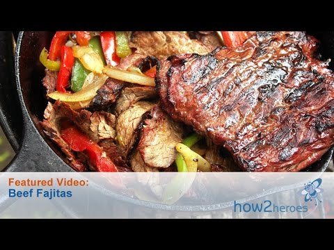 Authentic Tex Mex Style Steak Fajitas
