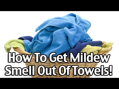 How To Get Mildew Smell Out Of Towels!