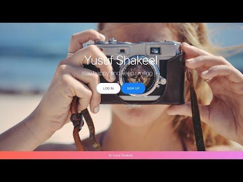 Landing Page - E01 - Just Code - Responsive Website - Yusuf Shakeel