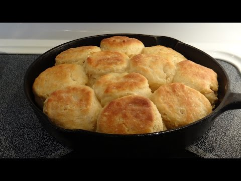 Southern Angel Biscuits, Mamaw's Recipe too! Cook 'em Up in a Cast Iron Skillet #MyFoodMemories
