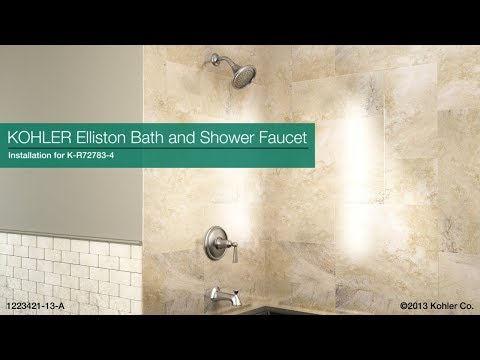 Installation - Elliston Bath and Shower Faucet