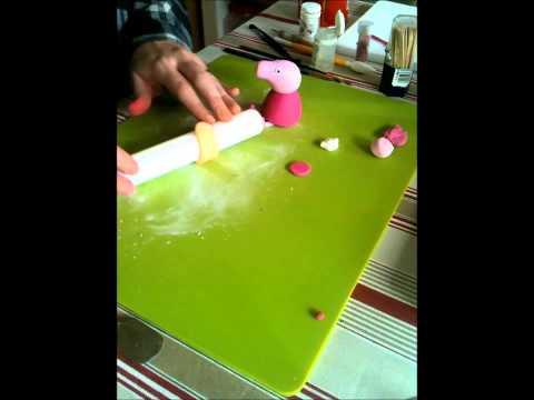 How to make a Princess Peppa Cake Topper - Part 2