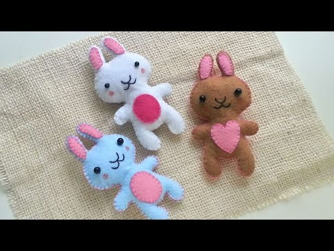 How To Create Cute Bunny Plushies - DIY Crafts Tutorial - Guidecentral