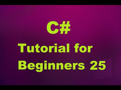 C# Tutorial for Beginners 25 - Abstract classes in C#