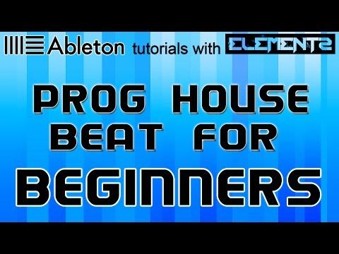 PROGRESSIVE HOUSE BEAT TUTORIAL (ABLETON LIVE 9 BEGINNERS)