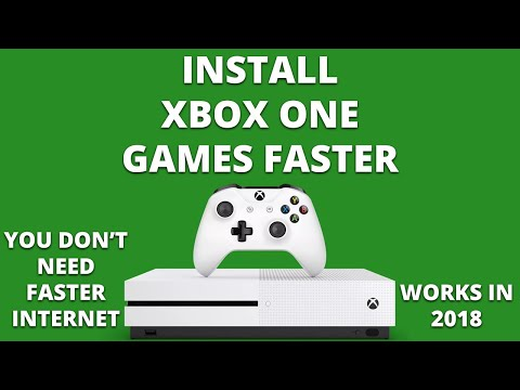 How to install Xbox One games faster (QUICK FIX)