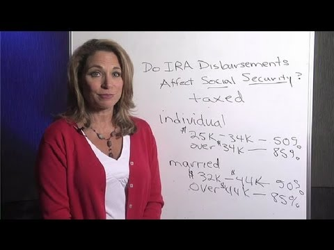 Do Traditional IRA Disbursements Affect Social Security Payments? : Life Insurance & More
