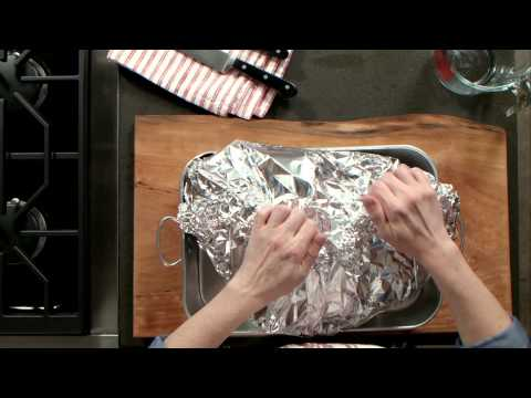 Smithfield Prep School: Preparing a Country Ham Using the Oven Method