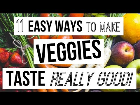 How To Make Vegetables TASTE GOOD!