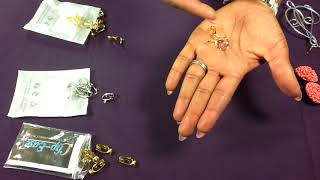 Converting pierced earrings to clip ons.