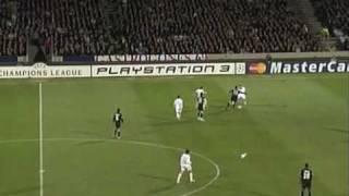 ROMA LIONE 2-0 (totti-mancini) Highlights by mattiasso