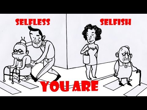 TEST YOUR PERSONALITY || SELFISH OR SELFLESS || कैसा है आपका व्यक्तित्व || IN HINDI