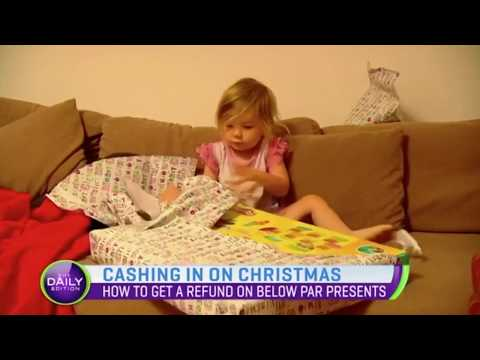 How to get your money back on unwanted Christmas presents | TwoHoots Tips