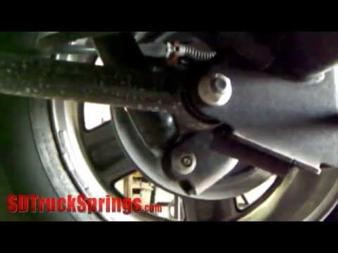 HOW TO: Installing TufTruck Coil Springs / Compressor - Tutorial and Review - SD Truck Springs