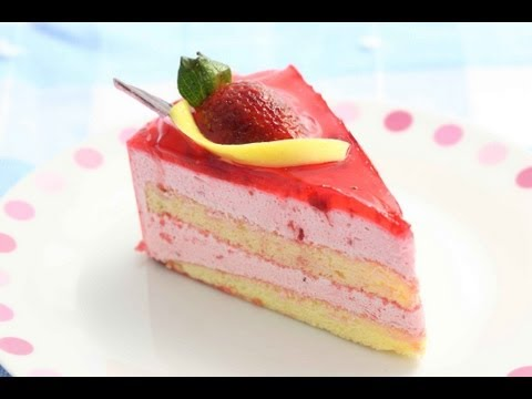 Strawberry Cheese Cake | Chef Anupa | Sanjeev Kapoor Khazana
