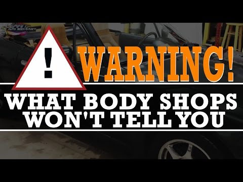 WARNING: What Most Body Shops Won't Admit When They Paint Your Car