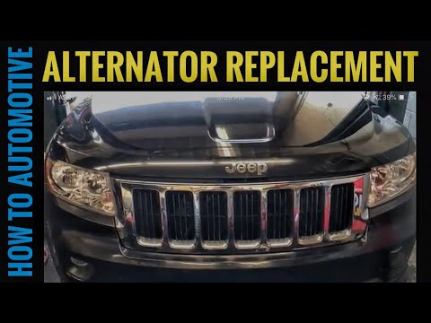 How to Replace the Alternator on a 2011-2017 Jeep Grand Cherokee with 3.6L Engine