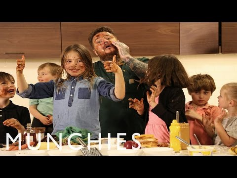 How To Make Grilled Cheese with Matty Matheson and Kids