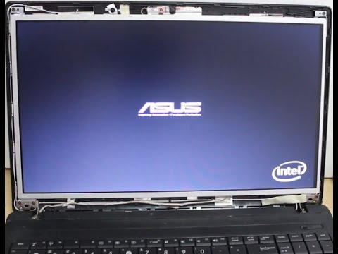 HOW TO REPLACE A BROKEN LCD SCREEN ON ASUS LAPTOP