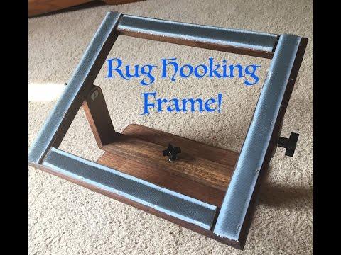 Making a Rug Hooking Frame