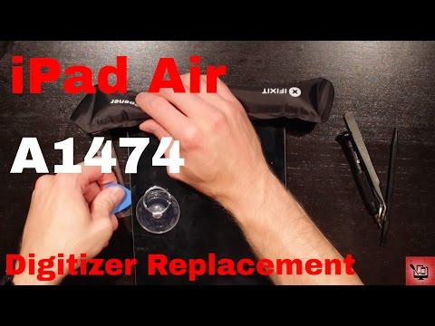 iPad Air Digitizer Replacement - A1474 - inc. lots of tips and tricks