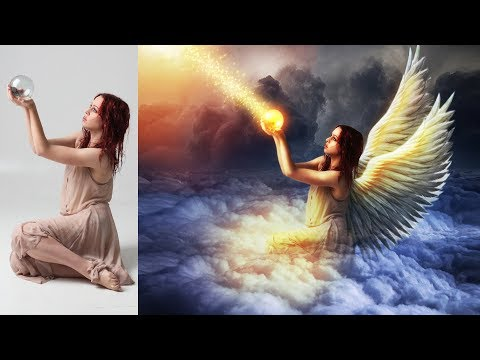Photoshop Manipulation Tutorial | Make Effect Wings Angel Photoshop Tutorial
