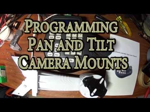 Programming Pan and Tilt Camera Mounts