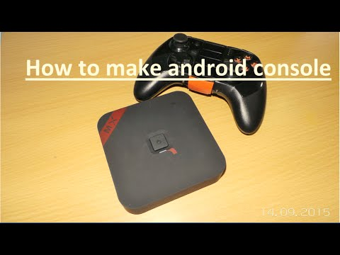 How to make a console from android box | android console |
