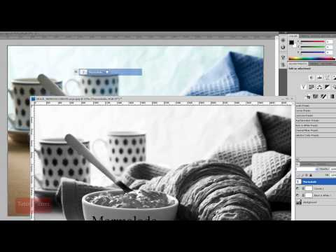 How-To Move a Layer to a New Image - Adobe Photoshop Tutorial [60 Seconds]