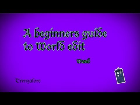 A beginners guide to World Edit - Wand