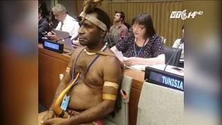 (VTC14)_Người đàn ông mặc khố dự phiên họp Liên hợp quốc là ai?