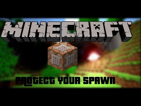 Protect Your Spawn In Vanilla Minecraft 1.8