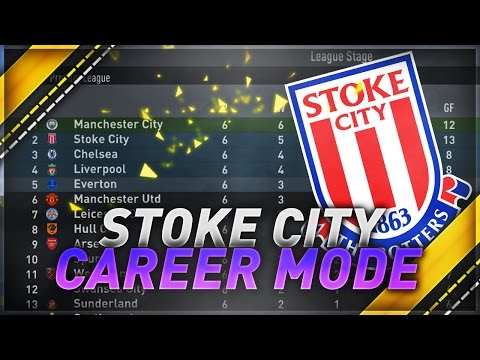 2ND IN THE PREMIER LEAGUE!? - #FIFA17 Stoke City CAREER MODE #7