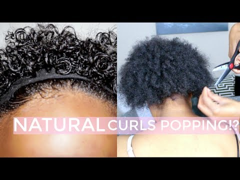 Watch Me Cut My Sisters Natural Hair + Revert & Define Her Curls (Short Hair)