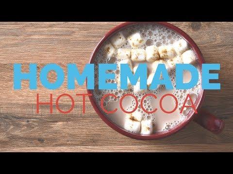 Hot Cocoa Recipe | Homemade Hot Cocoa | Free Printable Label