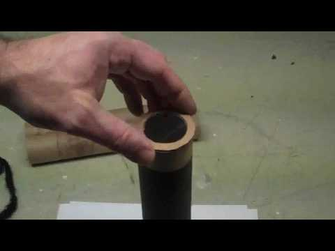 How to make a small easy telescope