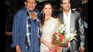 Mithun Chakraborty with family Exclusive