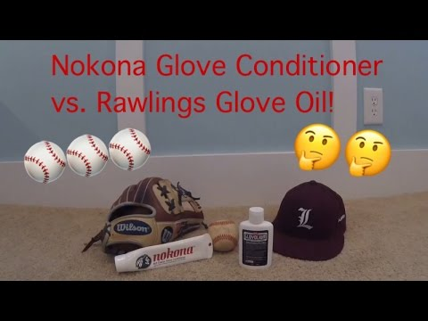 Nokona Glove Conditioner vs. Rawlings Glove Oil! Which is Better???