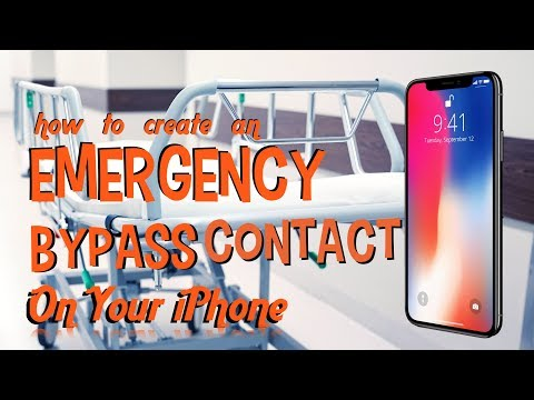Create An Emergency Bypass Contact On Your iPhone [HOW TO]