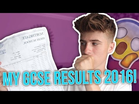 OPENING MY GCSE RESULTS 2016 (REACTION)