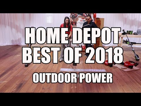 Best Home Depot Outdoor Power Equipment for Spring 2018
