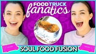 SOUL FOOD CHALLENGE | Food Truck Fanatics w/ The Merrell Twins