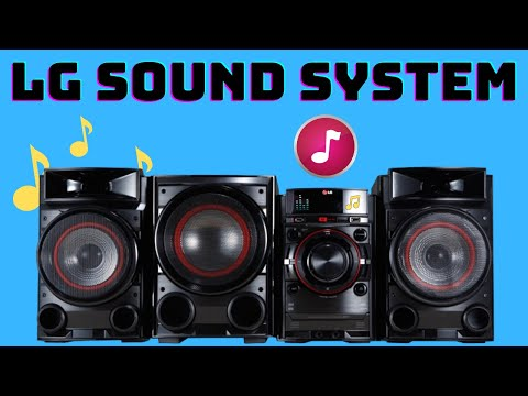 LG CM4530 Mini Stereo System Unboxing