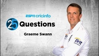 25 questions with Graeme Swann:
