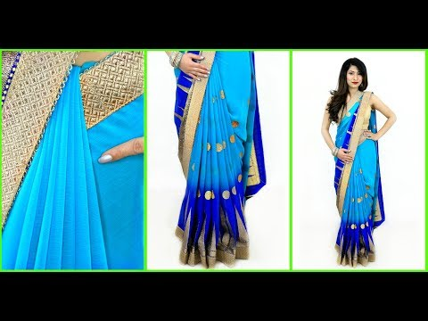 Try this WEIRD TRICK to Get Perfect PLEATS in 2 Mins - How To Wear Saree Perfectly | Anaysa