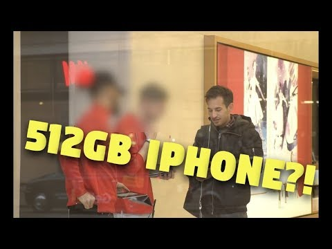 512GB IPHONE ?! Storage Upgrade and Apple Store Reaction