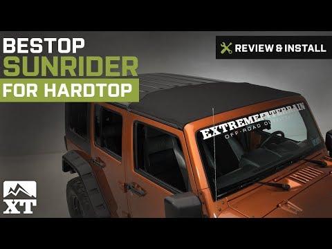 Jeep Wrangler Bestop Sunrider For Hardtop (2007-2016 JK) Review & Install