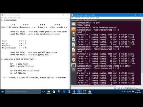 Linux Commands 5. File Permission : chmod